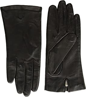 Fownes Women's SILK Lined Metisse Lambskin Leather Gloves