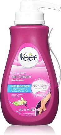 Veet Gel Hair Remover Cream, Sensitive Formula, 13.5 Ounce