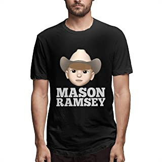 Mason Ramsey T Shirt Yodeling Boy Guitar Gift Unisex Clothes for Men and Women Girl Boy Clothes Short Sleeve Hoodie (10)