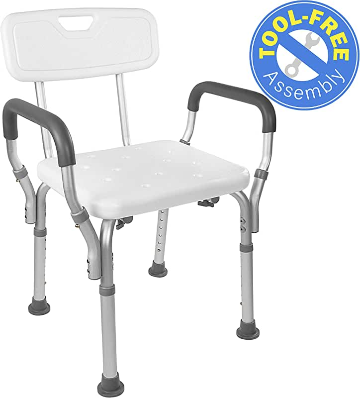 Shower chair with removable arms contractors wardrobe shower doors
