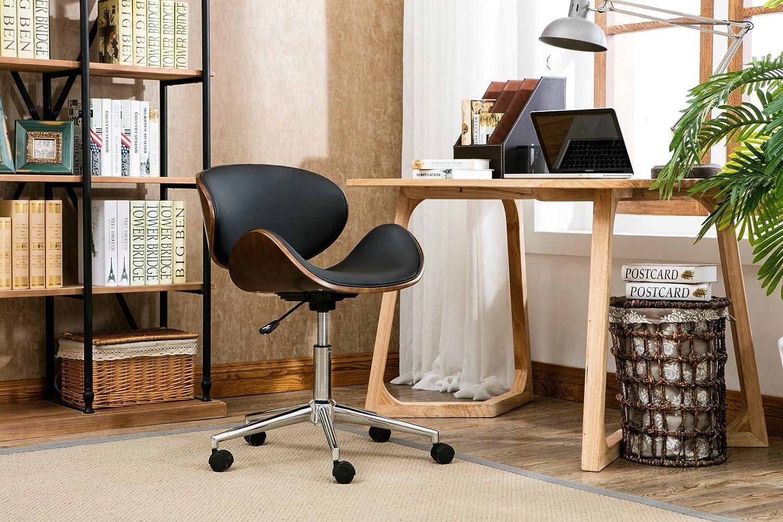 Porthos Home KCH011A BLK Rylan Office Chair Black