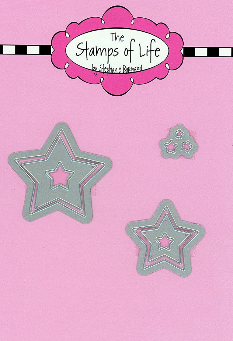 Star Metal Die Cuts for Scrapbooking and Card-Making by The Stamps of Life - 4th of July Die Cuts
