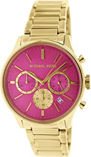 Michael Kors Womens Quartz Watch, Chronograph Display and Stainless Steel Strap MK5909