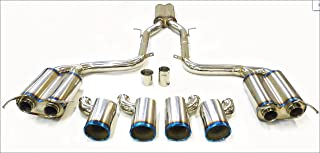 OBX Performance Axle Back Titanium Exhaust Catback System 08-14 Mercedes Benz W204 C63 AMG