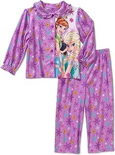 6e5a6ea26b1 Disney Girls Frozen 2-Piece Pajama Set
