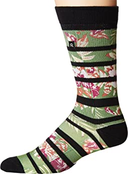 Hibiscus Athletic Socks