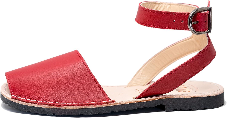 Pons 521 - Avarca Avarca Avarca Classic Style Strap - röd - 41 (US 11)  erbjuder 100%