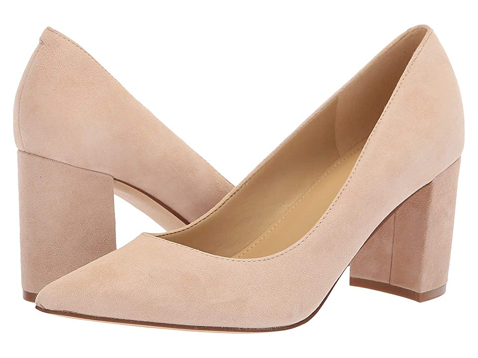 Marc Fisher Claire (Natural Savoy Suede) High Heels