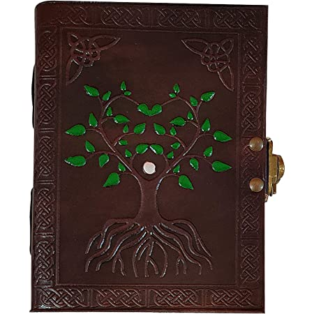 Handmade Vintage Antique Looking Genuine Leather Journal Diary Notebook Gift for Men Women Gift for Him Her