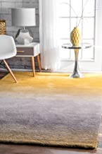 nuLOOM Ombre Shag Rug, 3' x 5', Yellow