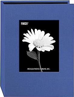Pioneer DA-57CBF/SB Photo 24-Pocket Frame Cover Album for 5 by 7-Inch Prints, Sky Blue Fabric