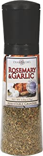Dean Jacob's Rosemary & Garlic Chef Size, Jumbo Adjustable Grinder - 6.0 oz.