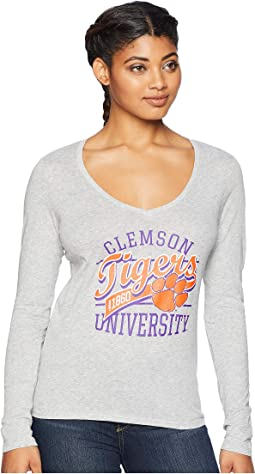 Clemson Tigers Long Sleeve V-Neck Tee
