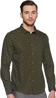 People Men's Slim fit Casual Shirt