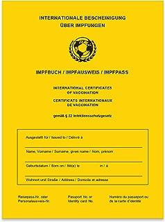 Impfpass/Impfbuch/Impfausweis – 2021 – Internationale Bescheinigung über..