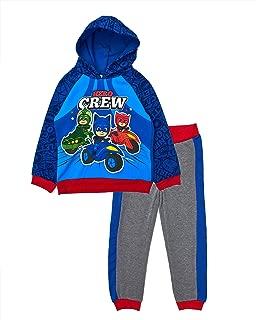 PJ Masks Hero Crew Fleece Hoodie Jogger Set