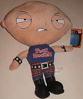 Family Guy Stewie Griffin Punk Rocker Jumbo Plush Figure Doll 16