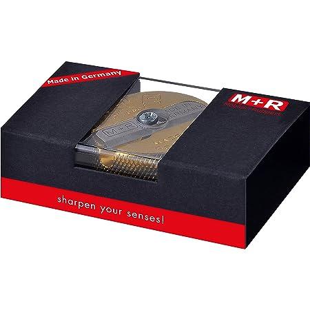 M+R 706021000 - Affilacoltelli in ottone con doppia confezione regalo