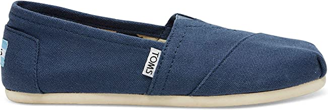TOMS Womens Classics Navy Canvas 001001B07-NVY Womens 5