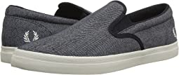 Fred Perry - Underspin Slip-On Printed Canvas