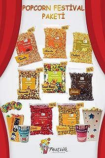 Festival Eğlencelik Atıştırma Paketi - Popcorn, Pamuk Şeker, Sosyete Şekeri