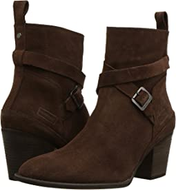 Refined Strap Boot Suede