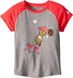 Outfielder Peanut Short Sleeve Tee (Toddler)