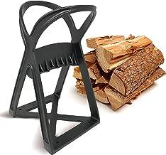 KABIN Kindle Quick Log Splitter – Manual Splitting Tool – Steel Wedge Point..