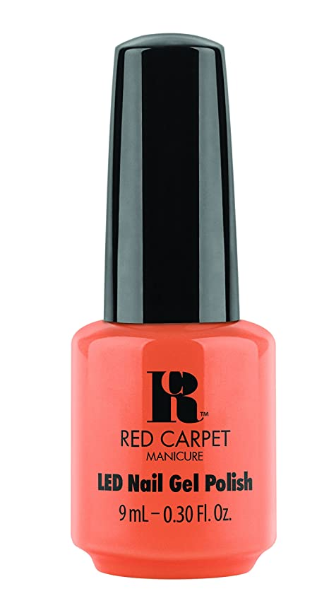 システムブート重さRed Carpet Manicure - LED Nail Gel Polish - Staycation - 0.3oz / 9ml