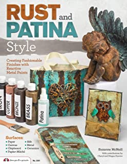 patina style painting
