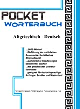 POCKET Wörterbuch: Altgriechisch - Deutsch (German Edition)