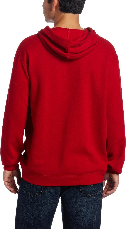NCAA North Carolina State Wolfpack Playbook Fleece Red Hoodie Mens
