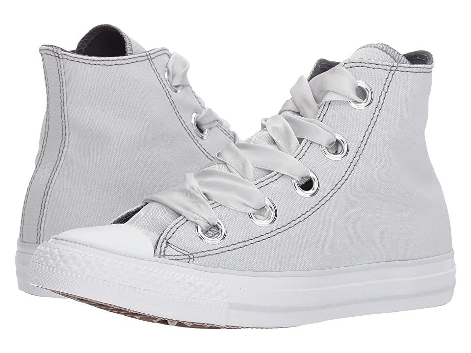 Converse Chuck Taylor(r) All Star Pastel Canvas Big Eyelet Hi (Pure Platinum/Light Carbon/White) Women