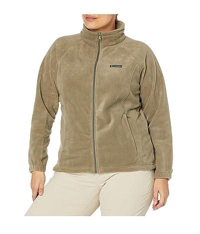 Columbia Plus Size Benton Springstm Full Zip (Stone Green) Women