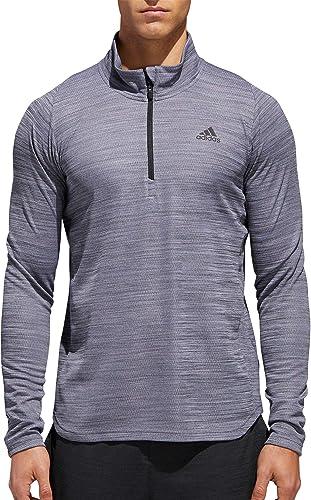 Adidas All Around Pull à Fermeture éclair 1 4 pour Homme