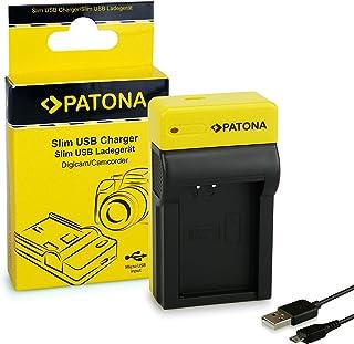 comprar comparacion PATONA Estrecho Cargador para LP-E12 Baterías Compatible con Canon EOS 100D M10 M2 Rebel SL1