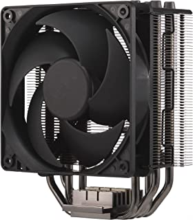 Cooler Master Hyper 212 Black Edition - Quiet, Sleek and Precise, 4 Continuous Direct Contact Heat Pipes with Fins, Silencio FP120 Fan