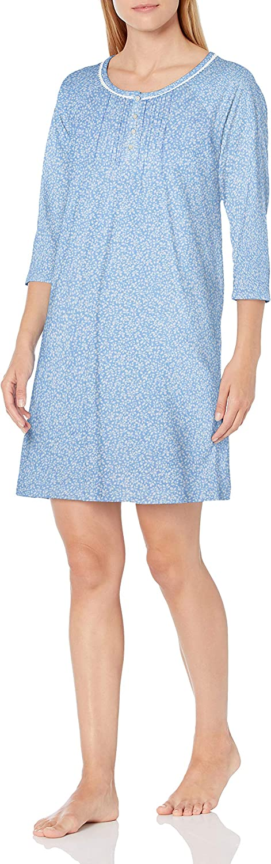 Carole Award-winning store Hochman Women's 3 Sleepshirt 4 Sleeve Translated