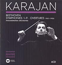 Philharmonia Orchestra 1951-1955: Beethoven Symphonies & Overtures