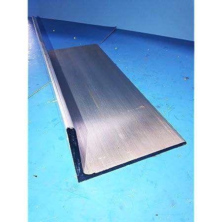 "Aluminum Angle 6061 T6 4/"" x 4/"" x 1//4/"" wall x 72/"""