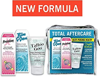 Tattoo Goo Complete Body Piercing Aftercare Kit Set - New Formula (1 kit)