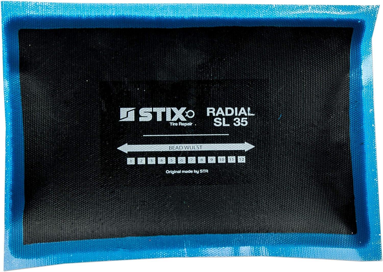 Stix Radial Reifenpflaster 130x190 Mm Reifen Pflaster Vulkanisierung Kalt Heiss Reparatur Auto