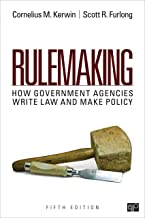 Rulemaking: How Government Agencies Write Law and Make Policy (NULL)