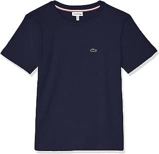 Lacoste Boys' Basic Crew Neck T-Shirt