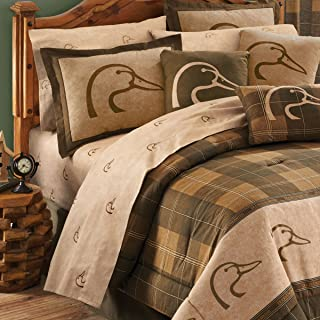 BLACK FOREST DECOR Rustic Sheets Cabin Set Comforter Queen, Full, King, Twin Bedding Sizes Décor (Queen)