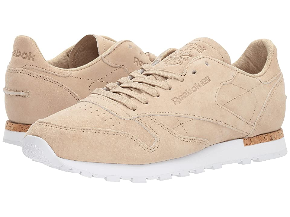Reebok CL Leather LST (Oatmeal/Driftwood/White) Men