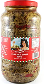 Cecilia Eggplant Strips in Oil, 2.9 kg