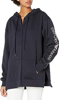 Emporio Armani Women's Stretch Cotton Full Zip Jacket