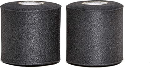 "HealiT PRO-Foam™ 2.75"" Performance Athletic Foam Prewrap - Professional Sports Pre Wrap Athletic Tape - Perfect for Taping Wrist & Ankles - Provides Amazing Knee Support - Black - 2 Pack"