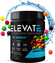 Plant Based Vegan Pre Workout Energy Booster, Keto Friendly Pre Workout for Men and Women, Non GMO, NO Dairy and Low Sugar...